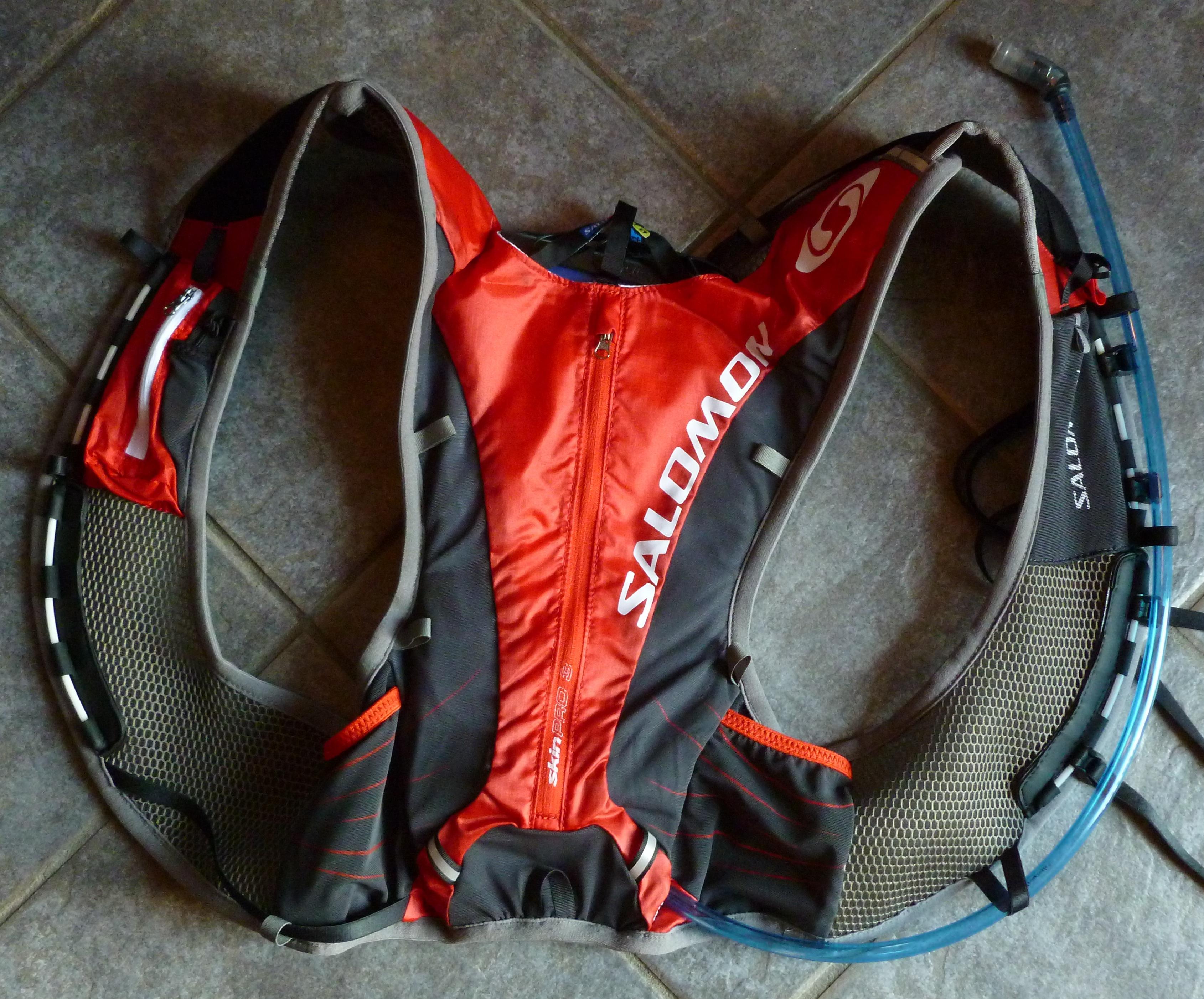 salomon skin pro 10 3 set running backpack, Salomon XA Pro