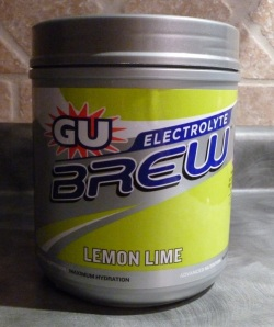 Can of Lemon Lime Brew Powder
