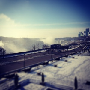 Another picture I took on a Saturday morning run before the crowds came out to see Niagara Falls.
