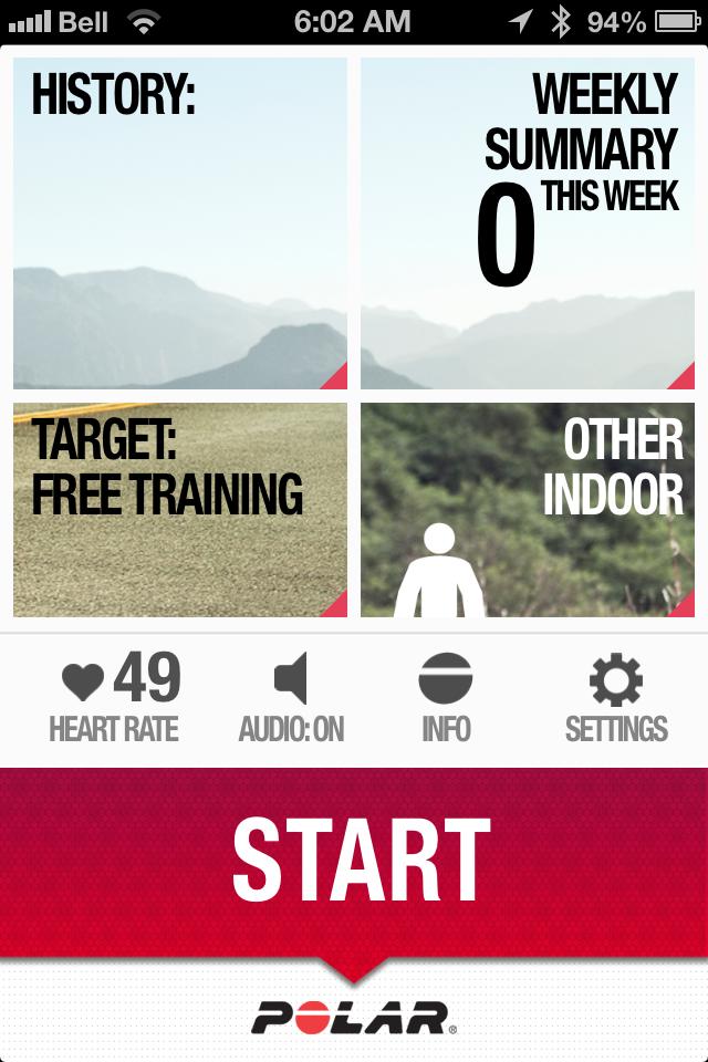 Polar Beat Ios App Runbikerace