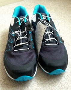 Awesome EndoFit tongue/sleeve and speedlaces make for a great fitting midfoot