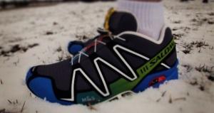 Speedcross3 snowy grass