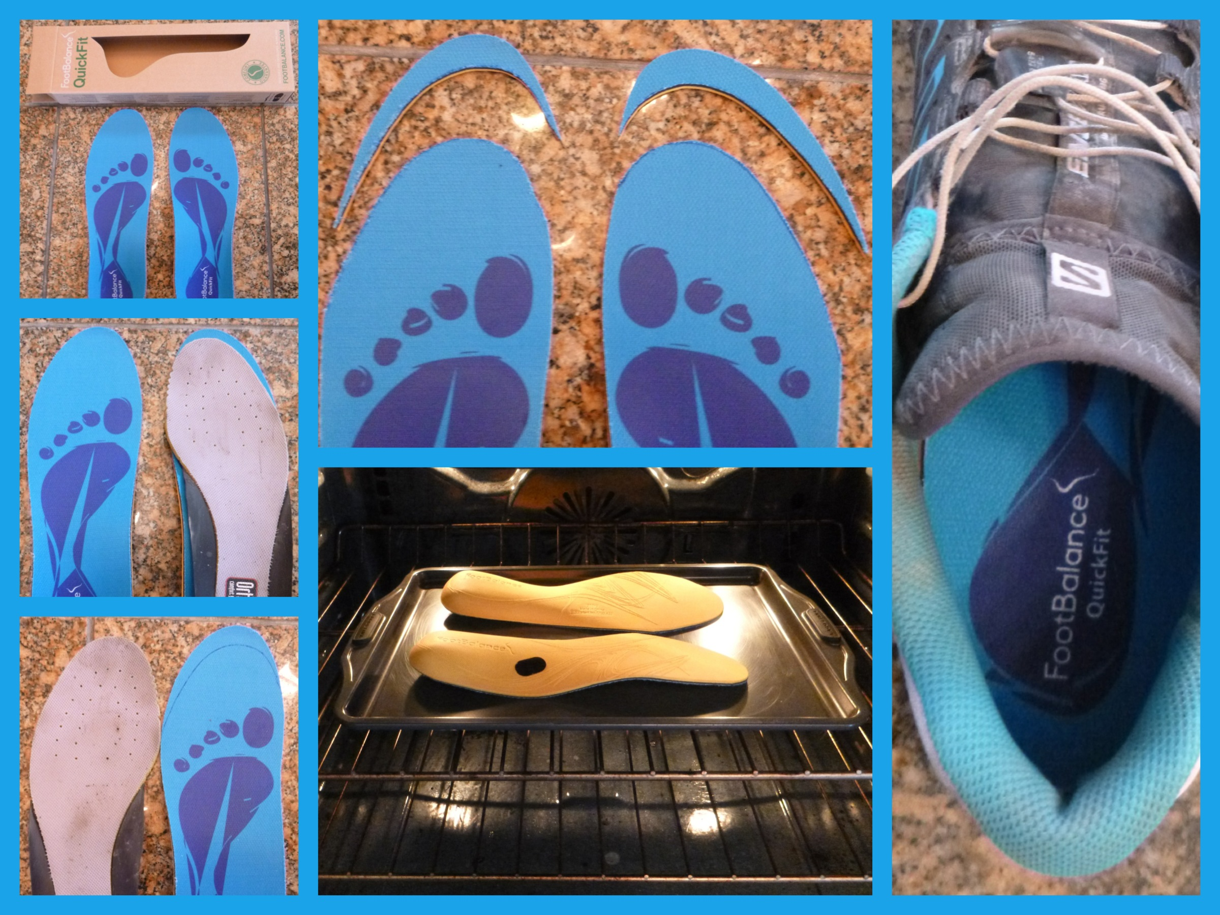 Heat molded insoles