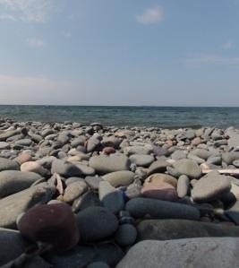The vast expanse of Lake Superior