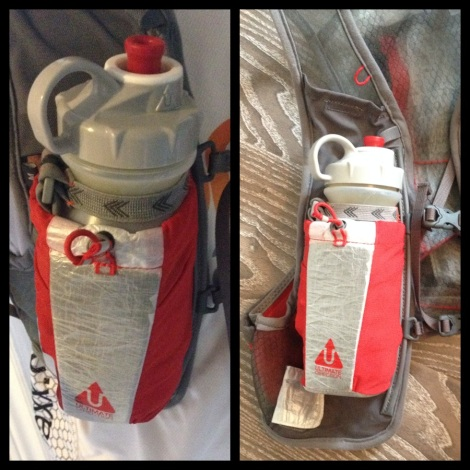 Jurek Grip was perfect to use with a hydration vest