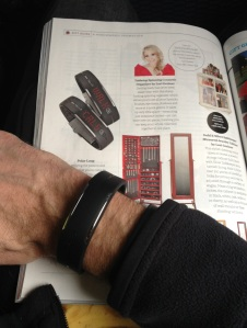 I felt cool when I spotted the Polar Loop in the airline magazine while flying to San Francisco