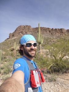Vacation Day 1 - enjoying sun, sand, and saguaros