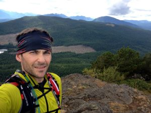 On top of Mt. Benson near Nanaimo, BC a couple summers ago