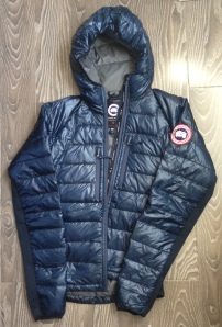 The Canada Goose Hybridge Lite Hoody is a beautiful jacket, even laying on the floor