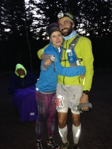 Still awake! Ultrarunning is definitely a team sport