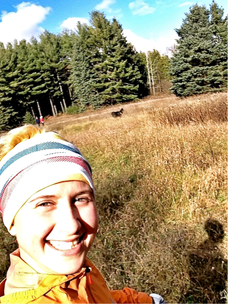 Auto-happiness while trail running in beautiful Ontario