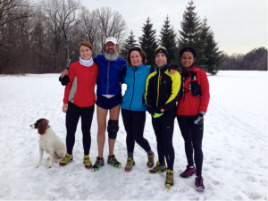 Dressing for winter conditions is a personal choice. However, by joining or creating a winter running group, you'll learn a lot about how to do it and will enjoy it more and more every year. Thanks to these and many more runners, I can't picture winter without it, and look forward to many seasons to come.