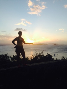 Running in Virgin Gorda