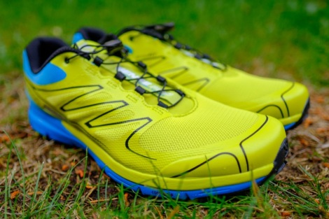 Salomon Sense Pro upper - the fabric is great